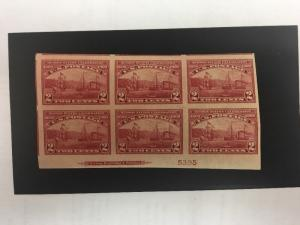 373 Superb Mint Never Hinged Plate Block. Catalogue Value $375.00