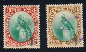 Guatemala - 1939 - SC 294-95 - Used