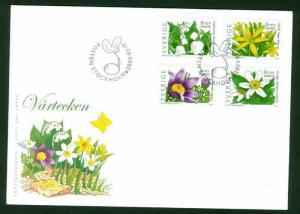 Sweden. FDC Cachet  2005.  Flowers Signs Of Springs
