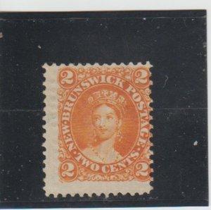 New Brunswick  Scott#  7  MNG  1863 Queen Victoria)
