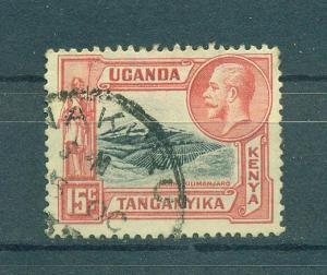 Kenya , Uganda & Tanzania sc# 49 (1) used cat value $.25