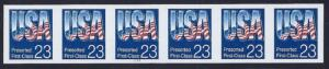 2607c - XF-SUP Imperf Error / EFO PNC6 #1111 USA Mint NH Cat $450+