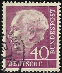 Germany 1954 Scott# 713 Used