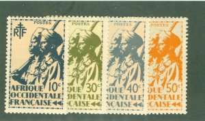 FRENCH WEST AFRICA  17-20 MH BIN $1.50