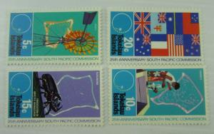 1972 Tokelau SC #33-36 SOUTH PACIFIC COMMISION ANNIVERSARY MNH stamps