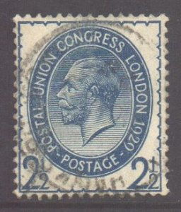 GB Scott 208 - SG437, 1929 PUC 2.1/2d used