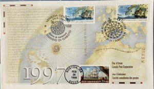HNLP Hideaki Nakano 3286 Irish Immigration Canada Italian John Cabot Joint Issue