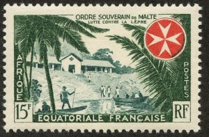 Fr. Equatorial Africa, Scott #194, Unused, Hinged