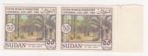Sudan, Sc # 135, MNH, 1960, Forestry