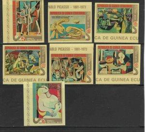 EQUATORIAL GUINEA 1975  PICASSO      MINT  VF NH  O.G  IMP. (EQ40    )