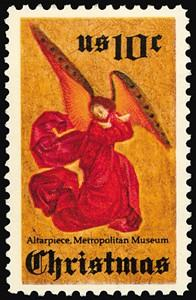 1550 Christmas Angel F-VF MNH single