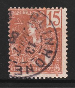 INDOCHINA 1904-06 Indochine Franchaise SC # 29 USED