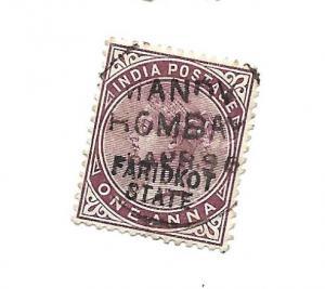India Faridkot 1887 - Scott #5