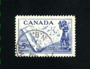 Canada  370  -1   used VF PD 1957