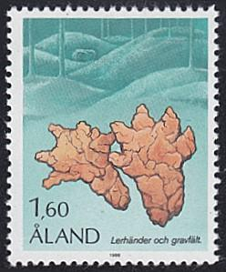 Aland # 11 mnh ~ 1.60m Burial Site, Clay Hands