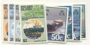 PITCAIRN ISLANDS #277-280, 281-284 MINT SETS