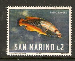 San Marino   #644  MNH  (1966)