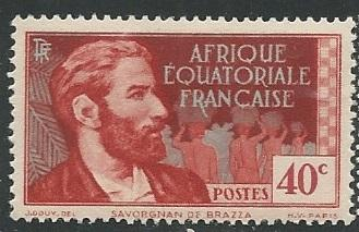 French Equatorial Africa  + Scott # 45 - MH