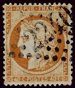 France SC#59 Used F-VF....Highly Collectible!!