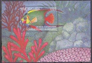 1995 Gambia 2082/B251 Sea fauna 11,00 €