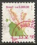 BRAZIL 2271 VFU FLOWER CV1.00 982F-2