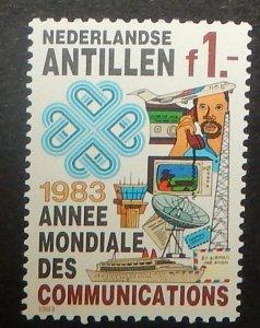 Netherlands Antilles 492. 1983 1G World Communications Year, NH