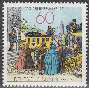 Germany #1361 MNH   (S7004)