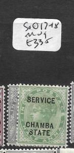 INDIA CHAMBA (P2602B) QV SERVICE  3P, 1/2A  SG O17-8  MOG