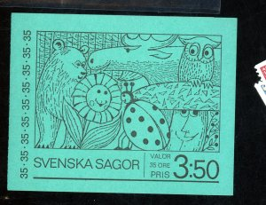 Sweden #841a MINT Booklet Cat$20
