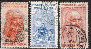 Italy # 601 - 601B Used