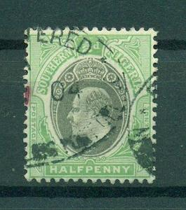 Southern Nigeria sc# 21 used cat value $.25