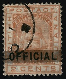 British Guiana #91 SG 140 Used F-VF...Fill a key British Colony spot!