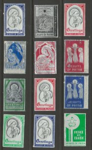 India older charity stamps 4-8- scarce mix