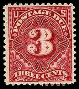 U.S. POSTAGE DUE J40  Mint (ID # 31118)