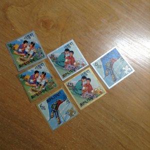 Bhutan  # 86-86E  MH