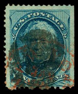 U.S. BANKNOTE CANCELS 179  Used (ID # 59846)