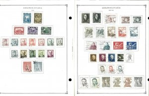 Czechoslovakia 1945-1994 M, U & CTO Hinged on Scott Int, Pages to 1999