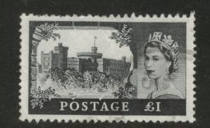 Great Britain Scott 528 used 1968 castle stamp CV$7