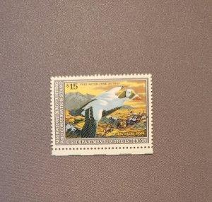 RW59, Speckled Eider, Mint OGNH, CV $40.00