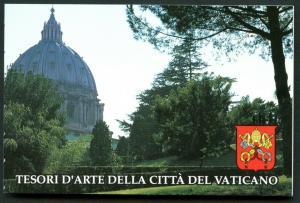 VATICAN Sc#917a-920a 1993 Architecture Booklet Mint OG NH