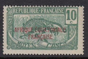 Middle Congo 27 Leopard MNH