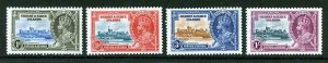 Gilbert and Ellice Islands SG36/39 1935 Silver Jubilee Set M/M