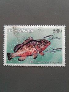 Bahamas 618A F-VF used. Scott $ 19.00