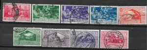 COLLECTION LOT OF # 833 ITALY 9 STAMPS 1930 CV+$26