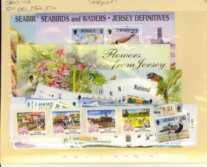 Jersey Scott 825-832, 832a, 871a Mint NH (1998 Year Set)