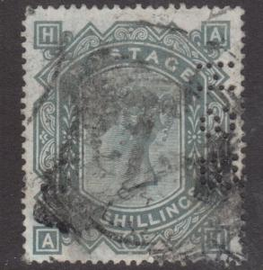 Great Britain #91 Used Perfin