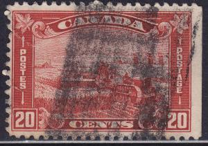 Canada 175 USED 1930 King George V ARCH/LEAF Harvesting 20¢