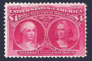U.S. 244 Mint FVF Initense Color (0903)