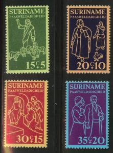 Suriname Scott B216-218 MNH** 1975  semi-postal set