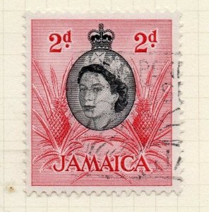 Jamaica 1956 Early Issue Fine Used 2d. 283890